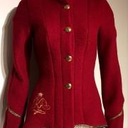 Röd jacka