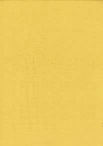Enfärgad trikå - Gul Fin bomullstrikå till klädessömnad 92% Bomull 8% Elastan Bredd 155-160 cm