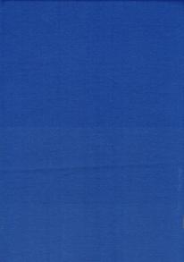 Enfärgad trikå - Royalblå Fin bomullstrikå till klädessömnad 92% Bomull 8% Elastan Bredd 155-160 cm