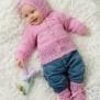 Stickmönster -  1595 Baby meriono