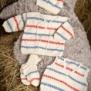 Stickmönster -  1211 Baby merino