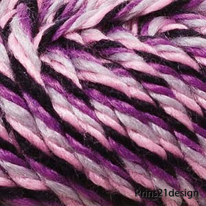 35026 Svart/rosa/lila Mouline