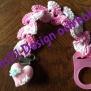 Napphållare - Napphållare rosa