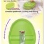 Magnetisk nåldyna - Magnetisk nåldyna grön