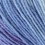 Elise Flerfärgade garn - 69021 blå iskristall batik