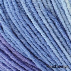 69021 blå iskristall batik