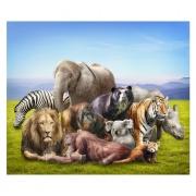 Vilda djur i bergen