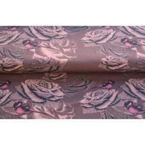 Rosor med fågel (finns i 3 Färger) - Rosor med fågel rosa