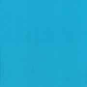 Enfärgad trikå Turkosblå