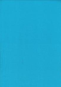 Enfärgad trikå Turkosblå - Enfärgad turkosblå