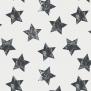 Stjärna - Stjärna svart/vit