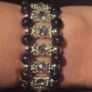 Glittrigt armband ( finns i flera färger)