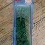 Knappar - colorsnaps grön 30 st tryckknappar i plast. Runda 12,4 mm. Enkelt att använda med tryckknappstången
