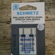 Schmetz tvillingnål stretch
