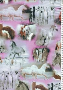 Digi trikå rosa häst - Digi trikå rosa häst
