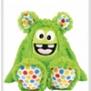 Kullaloo monster ( finns i 3 färger) - Monster grön