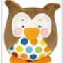 Kullaloo uggla ( finns i 2 färger) - Uggla brun