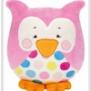 Kullaloo uggla ( finns i 2 färger) - Uggla rosa