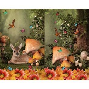 Rådjur/svamp - Rådjur/svamp