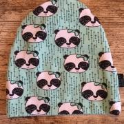 Mössa grön panda