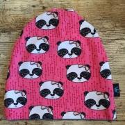 Mössa rosa panda