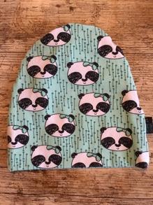 Mössa grön panda - Mössa grön panda48/50