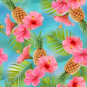 Ananas och hibiskus - Ananas och hibiskus