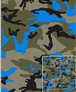 Army neon blå - Army neon blå