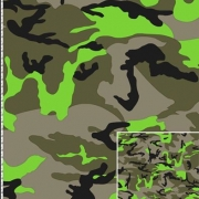 Army Neon Grön