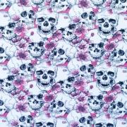 Dödskalle rosa