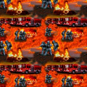Brandbil eld - Brandbil eld !