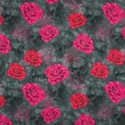 Dödskallar med rosor