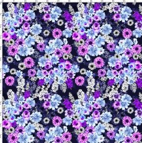 Lila blomster - Lila blomster