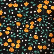 Retro blomster finns i tre färger