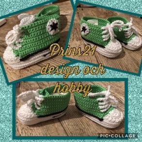 Baby skor Apple granny 513 - Baby skor gröna
