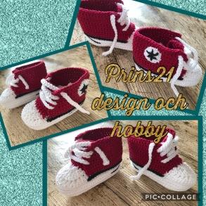 Baby skor scarlet 192 - Baby skor röda