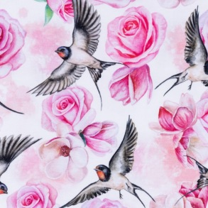 Rose Birds Swallow - Rose Birds Swallow