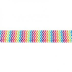 elastisk 25 mm zigzag - elastisk 25 mm zigzag