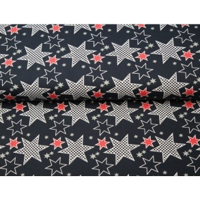 Stars black and red - Stars black and red
