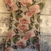 Klänning rosor/fjäril stl 92