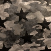 Camo grey and stars