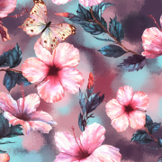 Hibiskus fjäril