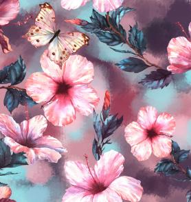 Hibiskus fjäril - Hibiskus fjäril
