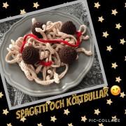 Spagetti meny