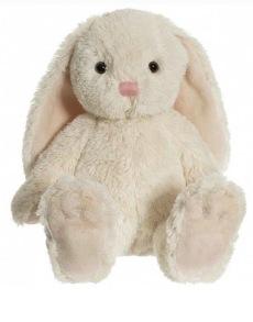 Kanin med Namn - Kanin Nina beige med namn mäter 35cm