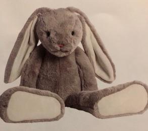 Kanin med Namn - Kanin stor med namn mäter 60cm