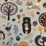 Skogsdjur finns i 2 färger