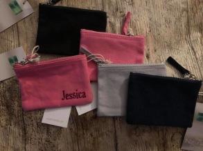 Necessär / plånbok - Necessär / plånbok ljusgrå