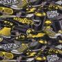 Hip Hop finns i två färger - Hip hop Yellow