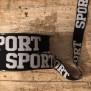 Resår sport ( två färger) - Resår sport  svart/vit
